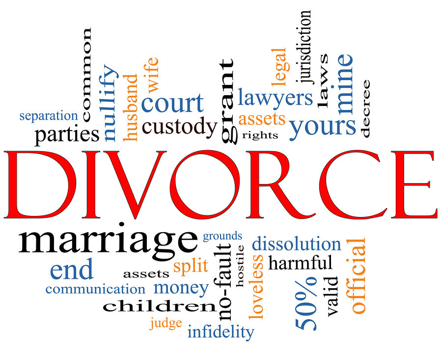Divorce, division of properties